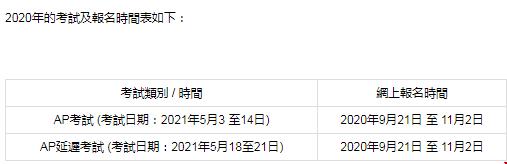 香港AP考试